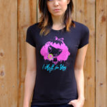 Women wearing I Melt with You Lolligag t-shirt
