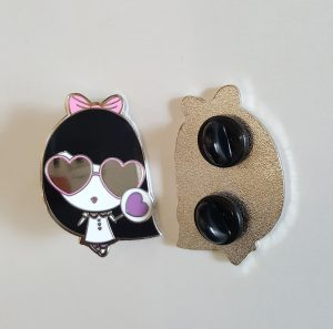 Lolligag Hearts In My Eyes Pin