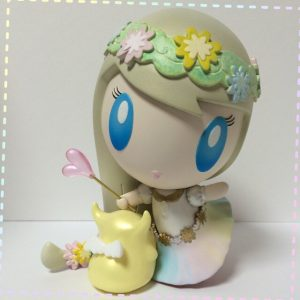 Aloha! Lolligag art toy customized by Monster Factory Mayuko