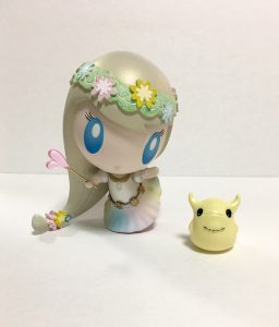 Aloha! Lolligag art toy by Monster Factory Mayuko