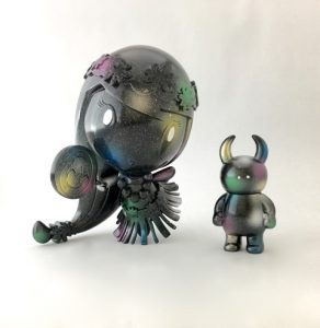 Aloha! Lolligag custom vinyl toy by Uamou