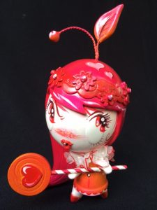 Aloha! Lolligag custom toy by Miss Mindy