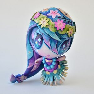Aloha! Lolligag custom toy by Jeremiah Ketner