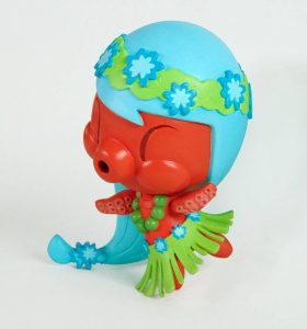 Aloha! Lolligag custom toy by Obake Style
