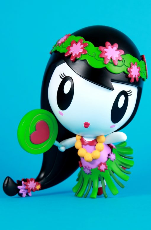 Lolligag as a hula girl