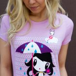 Women wearing the Make It Rain Lolligag Tee