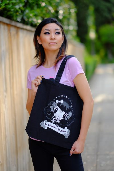 Woman with Lolligag Tote