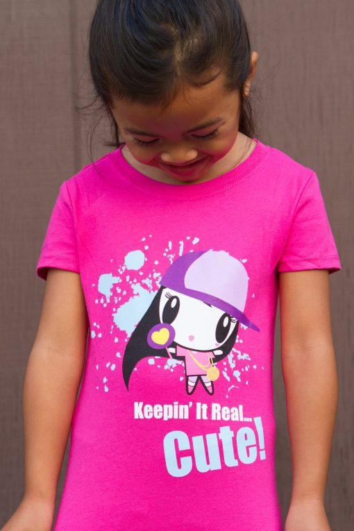 Keeping' It Real Cute Kids T-shirt